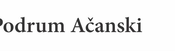 Podrum Ačanski