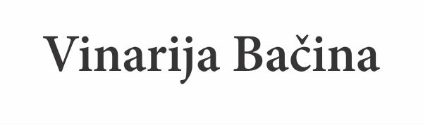 Vinarija Bačina