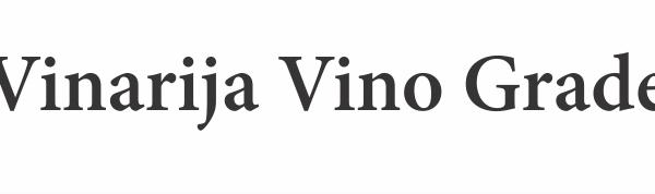 Vinarija Vino Grade